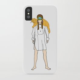 Holly and Cat iPhone Case