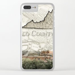 Henrico County VA Clear iPhone Case