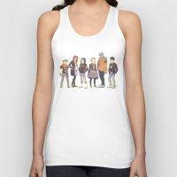 teen titans Tank Tops featuring Teen Titans Streetwear by L. Tharp