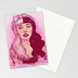 strawberry milk tears Stationery Cards