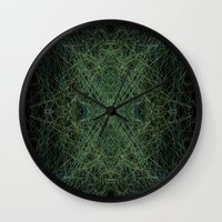 trippy Wall Clocks featuring Trippy by writingoverashes
