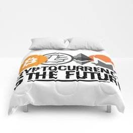 Cryptocurrency Is The Future Quote Comforters