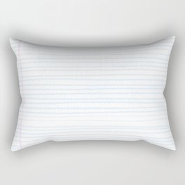 Fun Geeky Writers Gift: College Ruled Rules Pattern Rectangular Pillow