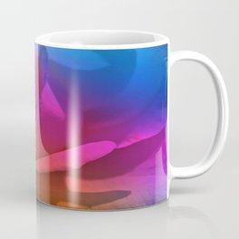 Painterly Rose Rainbow Coffee Mug