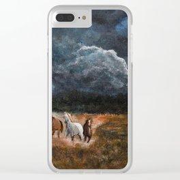 Lusitanian Wild Spirits Clear iPhone Case