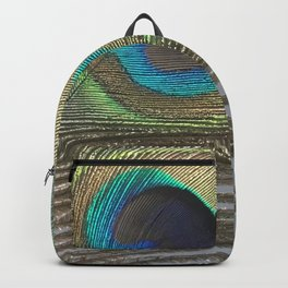 Peacock Feather No.1 | Feathers | Nadia Bonello | Ottawa | Canada Backpack