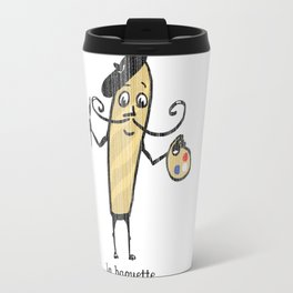 La Baguette, a tribute to French bread Travel Mug