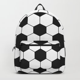 Soccer ball pattern Backpack