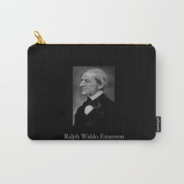 portrait of Ralph Waldo Emerson Carry-All Pouch