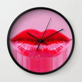 Kiss my Lips Wall Clock