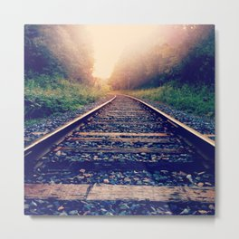 Create Your Own Path Metal Print