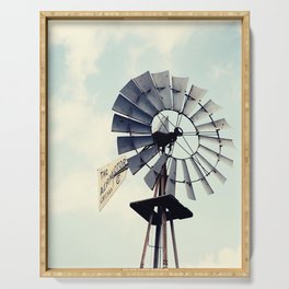 Windmill Serving Tray