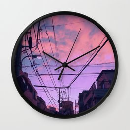 Anime Sunrise Wall Clock