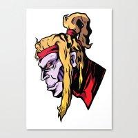 xmen Canvas Prints featuring x28 by jason st paul