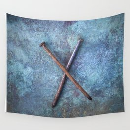 Two Nails Wall Tapestry