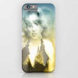 Marylin and her reflects iPhone Case