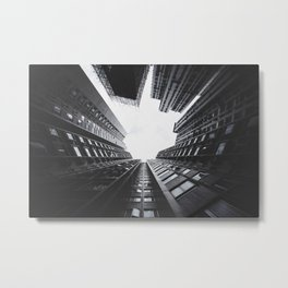 Modern City Metal Print