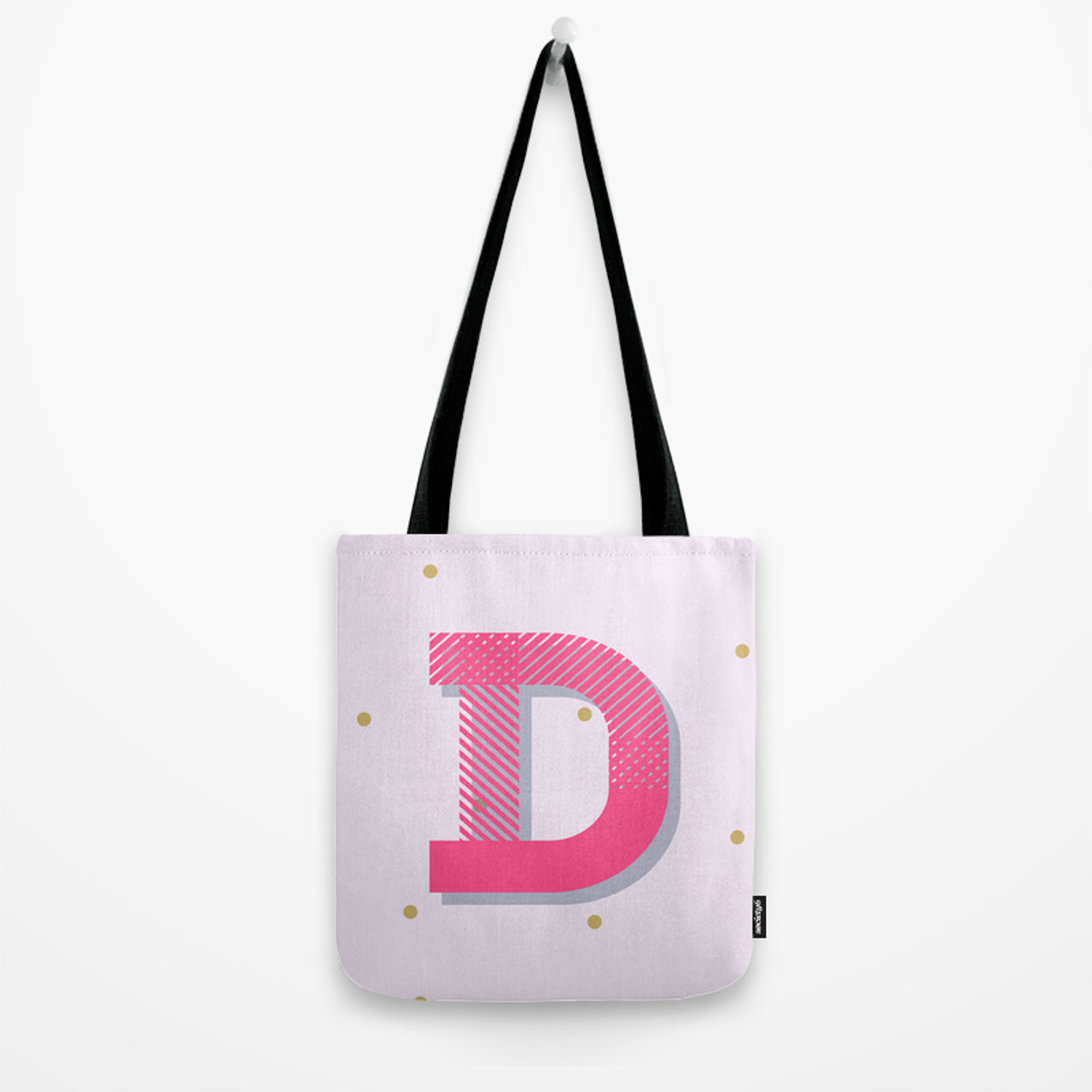 Delightful Tote Bag By Colorandtheory