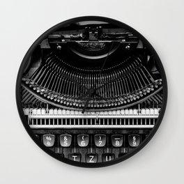 Typewriter Wall Clock