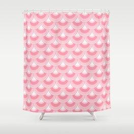 Koi Nobori Sakura Shower Curtain