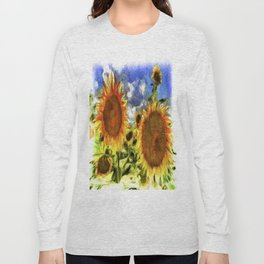 Sunflowers Vincent Van Goth Long Sleeve T-shirt