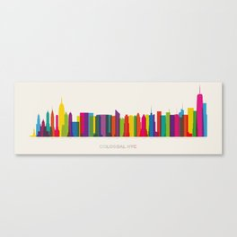 Colossal NYC Canvas Print