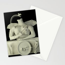 witch with its familiar Stationery Cards