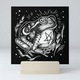 BLACK TOAD Mini Art Print