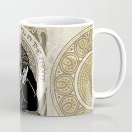 True Friends Stab You In The Front Coffee Mug