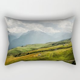 On Top of the World Rectangular Pillow