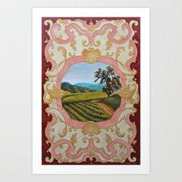 French Panel Art Print
