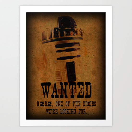 Reward For Capture ~ Not To Be Strangled With The Force Art Print