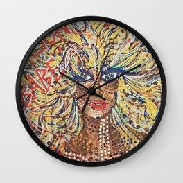 Lion Babe Wall Clock