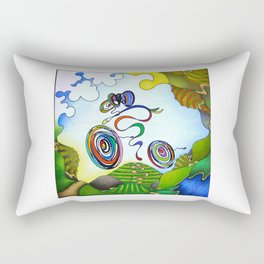 Bicycle - Wine Country Rouleur Rectangular Pillow