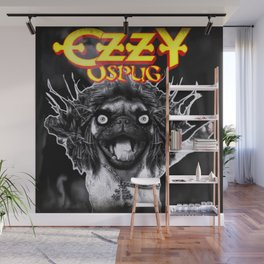 PUG OF DARKNESS Wall Mural