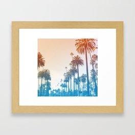 Summer in LA Framed Art Print