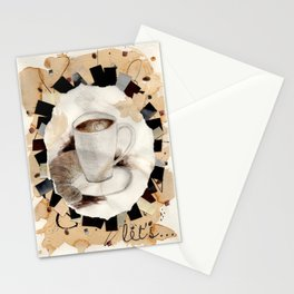 Hot: Coffee Stationery Cards