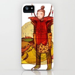 fisher muzh iPhone Case