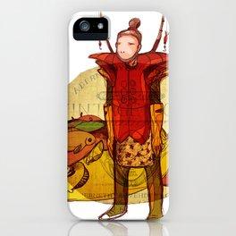 fisher muzh iPhone Case