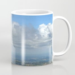 View at 3,000 feet alt. from El Yunque peak -  El Yunque rainforest PR Coffee Mug