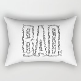 BAD by Sketches Rectangular Pillow