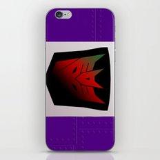 Transformers Generation 1: Rub Sign: Decepticon! iPhone & iPod Skin