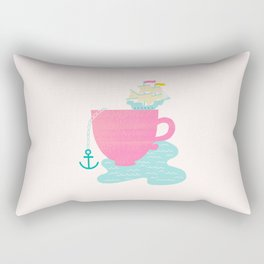 Cup of Sea Rectangular Pillow