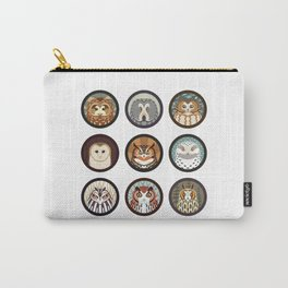 Owls of the Eastern United States Carry-All Pouch