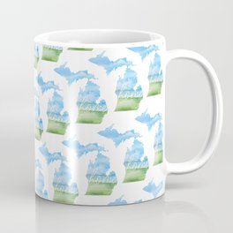 Michigan Home State Coffee Mug