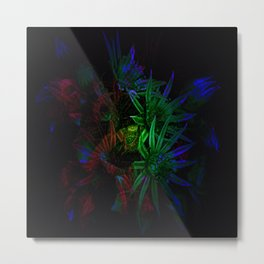 What Nature does at night..... Metal Print