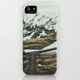 iceland road trip iPhone Case