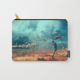 SAGITTARIUS form the Dancing Zodiac Carry-All Pouch