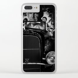 Indiana Car Clear iPhone Case