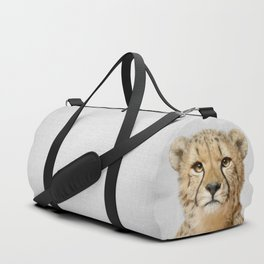 Cheetah - Colorful Duffle Bag